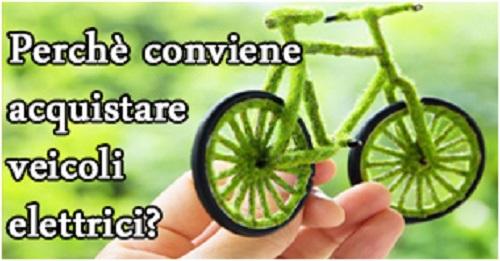 vantaggi biciclette elettriche