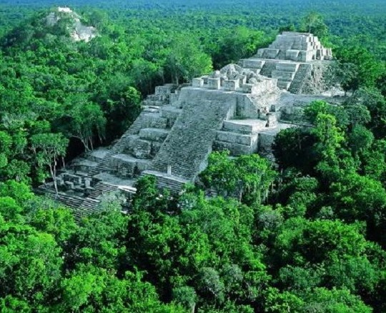 maya siti archeologici