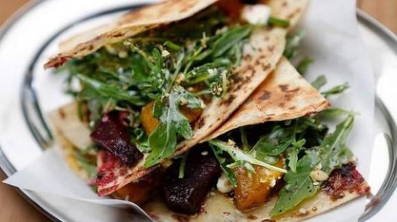 piadina vegetariana romagnola