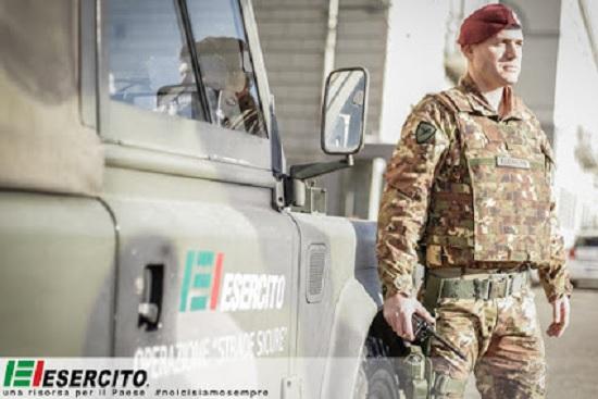 lavoro esercito italiano