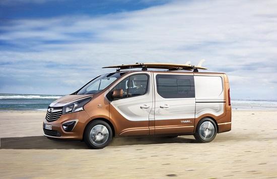 nuovo Opel Vivaro Surf Concept