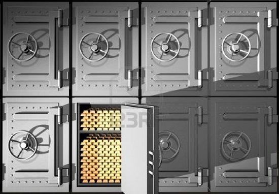 le cassette di sicurezza